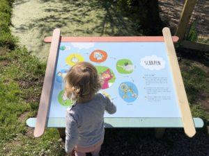Signing avonturenboerderij door Korteland