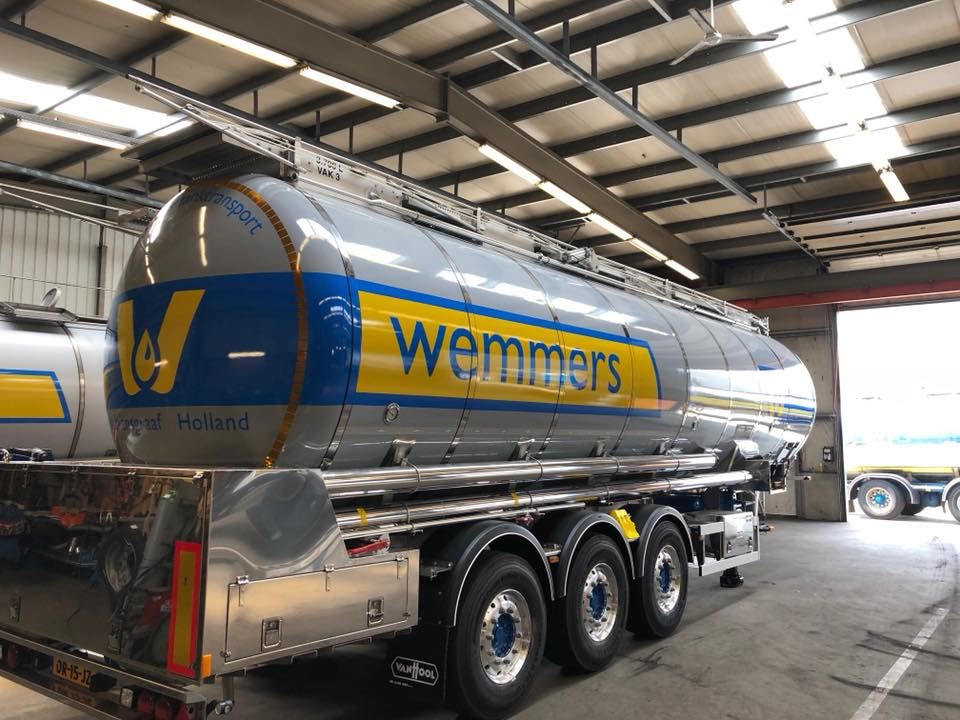 Wemmers Tanktransport signing door Korteland