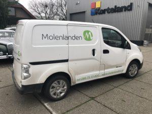 Molenlanden, Nissan E-NV200