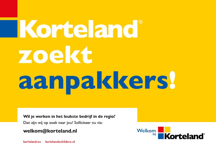 aanpakkers - Korteland In- & Outdoor Signing Wervingscampagne