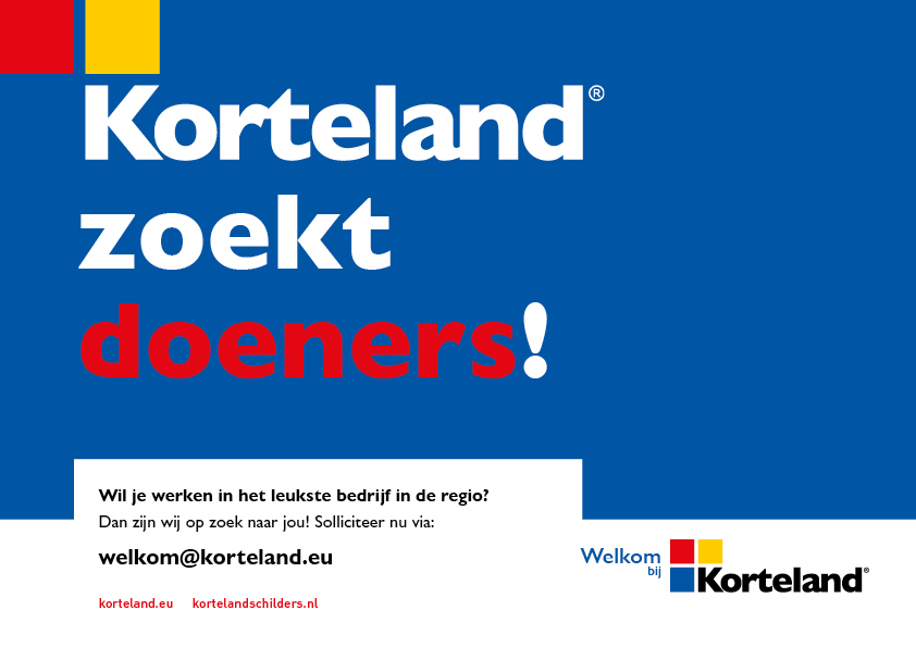 Korteland In- & Outdoor Signing Wervingscampagne