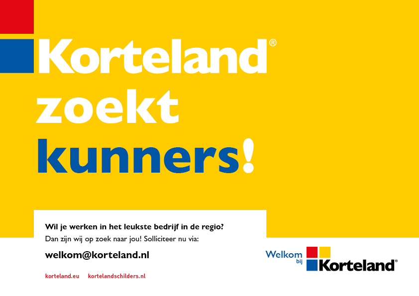 kunners - Korteland In- & Outdoor Signing Wervingscampagne