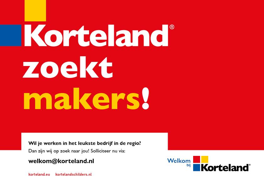 makers - Korteland In- & Outdoor Signing Wervingscampagne