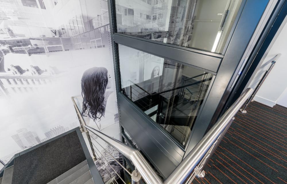 Sfeerwand open kantoorruimte