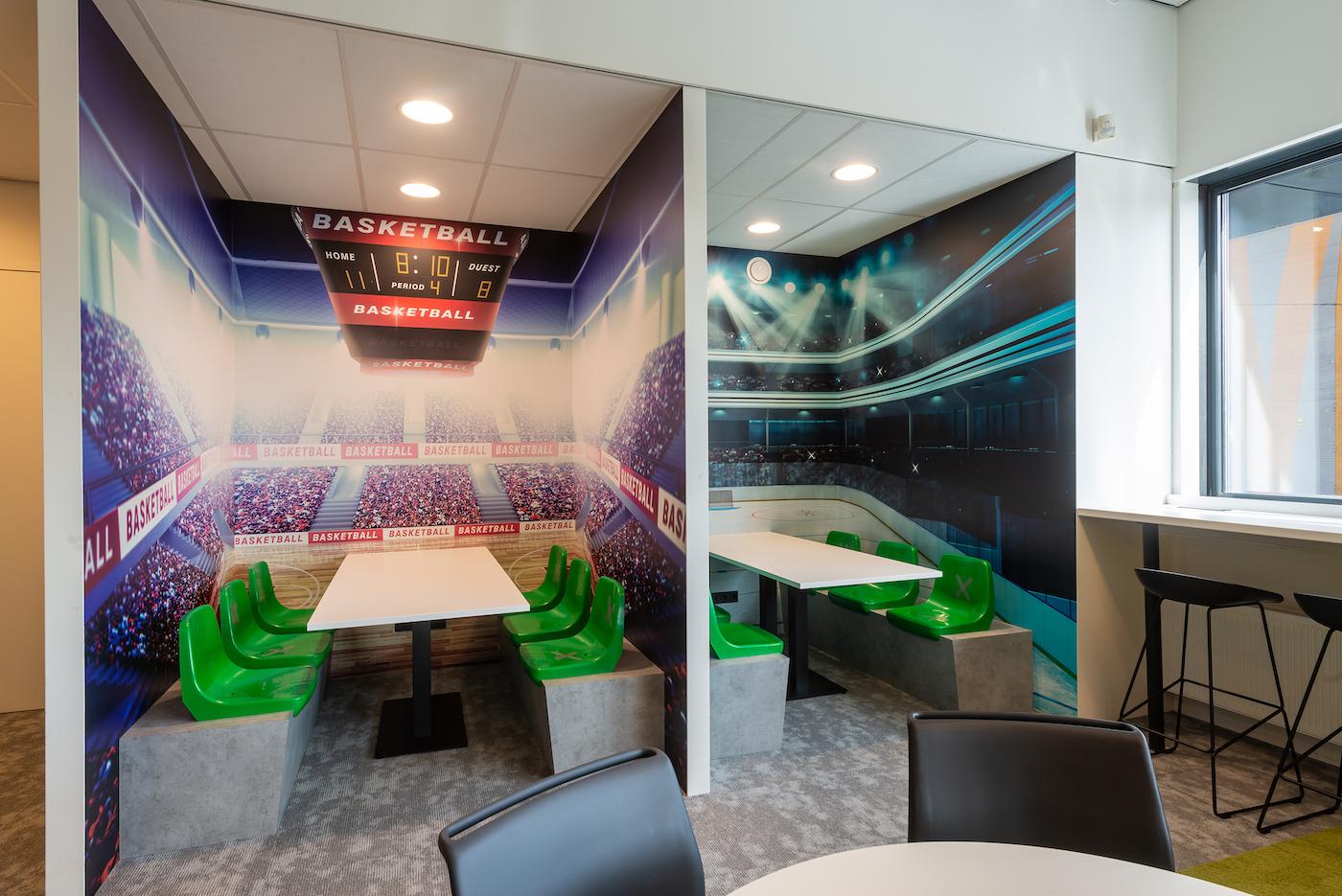 Korteland Visuals beelden stadions sport op Da Vinci college school