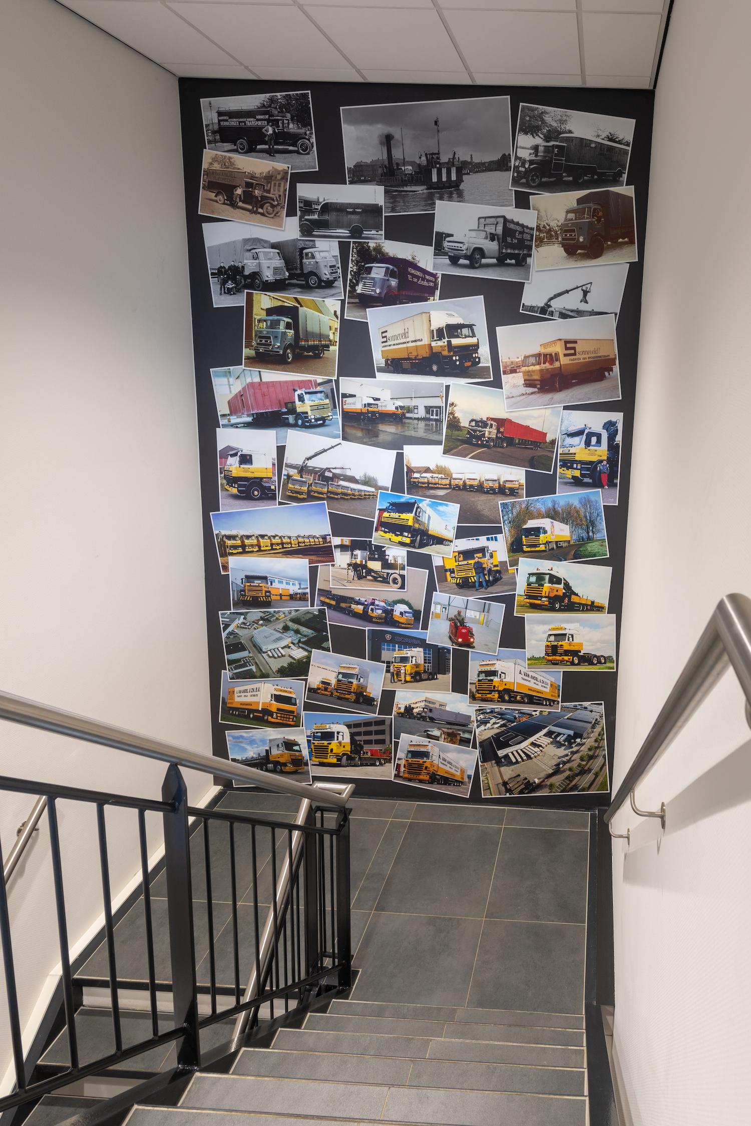 Korteland In- en Outdoor Signing Van Andel fotocollage geschiedenis
